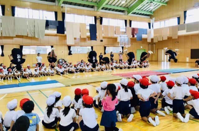 八王子市立第三小学校実演✨