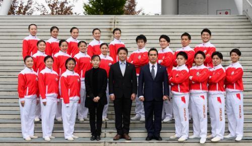日体大体操部  2018年度 卒業生